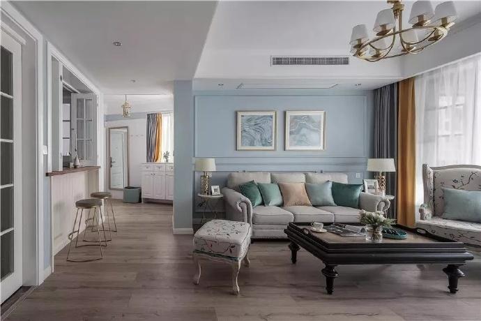 房子装修大客厅隔断如何设计?隔断设计原则