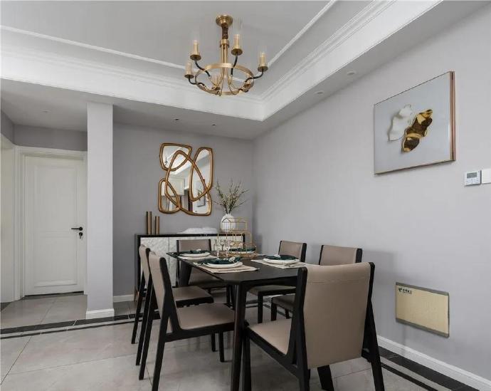 [装修案例]美式风格装修效果图赏析 一个有情调又舒适的家