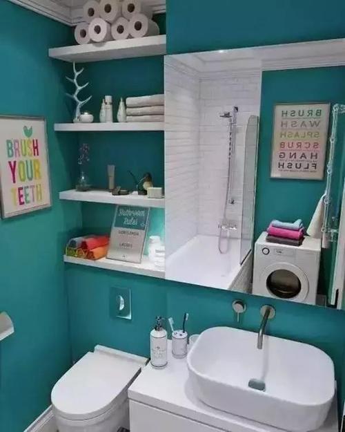 小户型卫生间装修收纳技巧 打造干净整洁卫生间