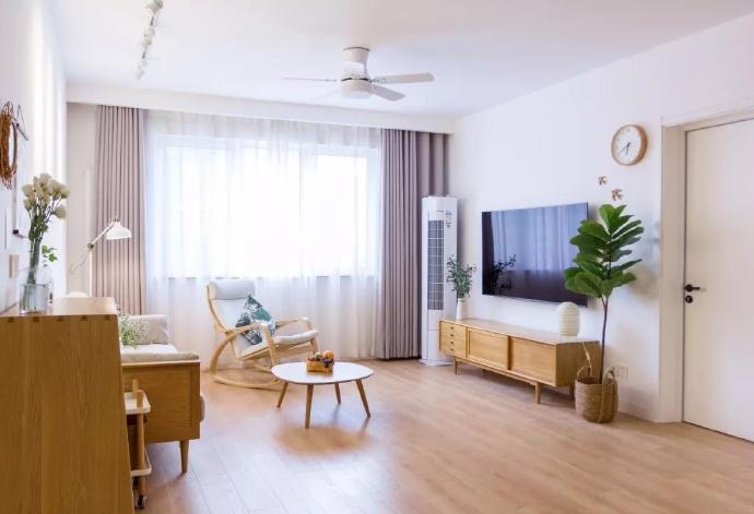 [装修案例】128平米日式风格装修效果图 原木色的简单家居