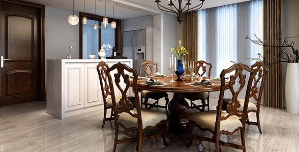 新房装修餐厅餐桌尺寸的选择