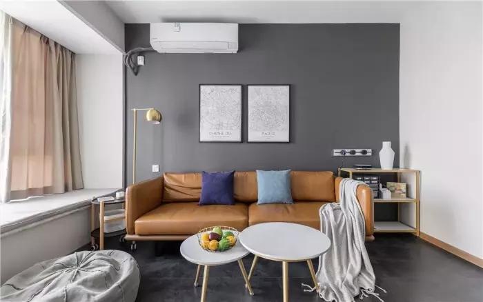 [裝修案例]100平米三室現代風格裝修,入戶花園巧改造 實用空間增大不少