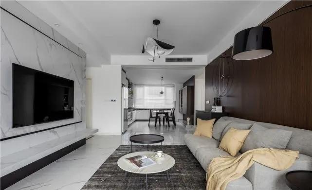 [装修案例]120平米三居室装修效果图 改造空间后利用率大大提升